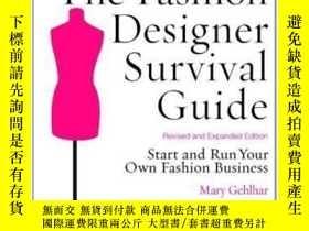 二手書博民逛書店The罕見Fashion Designer Survival Guide, Revised And Expande