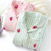 哺乳居家服秋冬季純棉月子服加厚保暖孕婦產后哺乳喂奶吸汗夾棉睡衣家居套裝