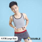 《Double束胸》COOLMESH 全網式束胸 套頭半身2L~3L大尺碼專區 【D74】