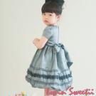 【Lovin` Sweetii】典藏小公主童洋裝~銀灰色限量款