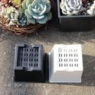 〔台灣製造〕CARMO優質黑色/白色硬式正方3吋盆 小方盆 花盆【C002023】