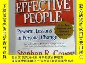 二手書博民逛書店THE罕見7 HABITS OF HIGHLY EFFECTIVE PEOPLE:高效能人士的7個習慣(外文) 不