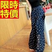 闊腿褲-經典清新顯瘦女長褲61f22[巴黎精品]