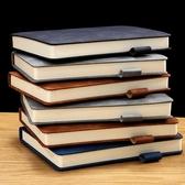 記事本商務工作加厚會議記錄簡約復古日記本【雲木雜貨】