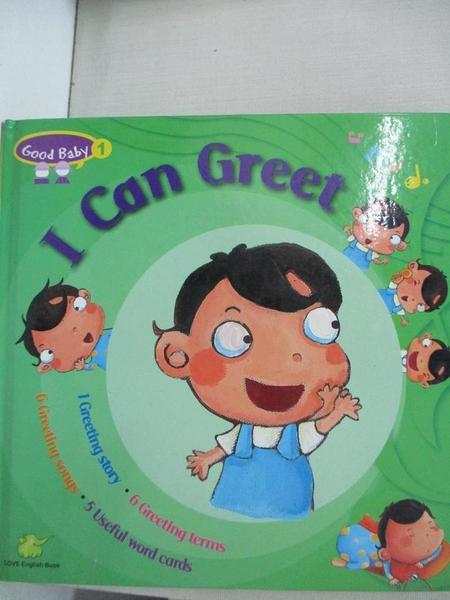 【書寶二手書T1/語言學習_AUW】GOOD BABY #01:I Can Greet (1CD+1DVD)_華韻雯, 沈佩玲