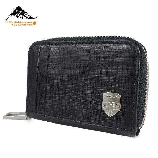 【THE89】低調時尚952-3404真皮卡片夾、零錢包