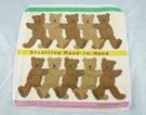 【震撼精品百貨】日本泰迪熊~方巾『熊搭肩』