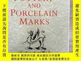 二手書博民逛書店Encyclopedia罕見Of British Pottery And Porcelain MarksY25