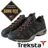 【Treksta 韓國】Nevado LACE男GTX防水低筒健行鞋『黑咖啡』KR17GM 多功能鞋.Gore-Tex