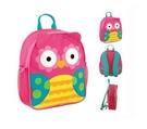 童趣造型背包-花花貓頭鷹