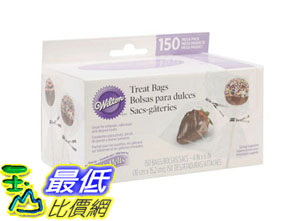 [105美國直購] 包裝袋 Wilton 1912-9508 150-Pack Treat Bags