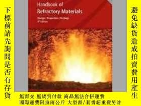 二手書博民逛書店Handbook罕見of Refractory MaterialsY405706 Gerald Routsch