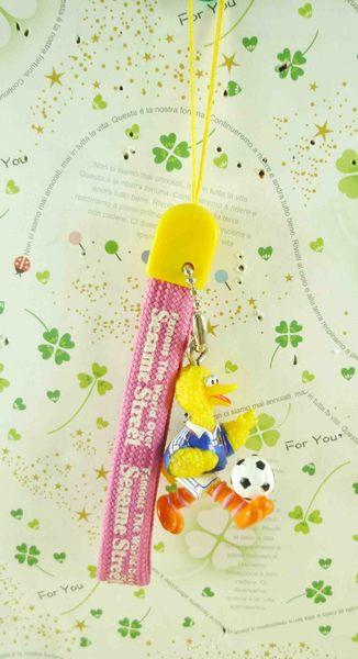 【震撼精品百貨】Sesame Street_芝麻街~手機吊飾-大鳥