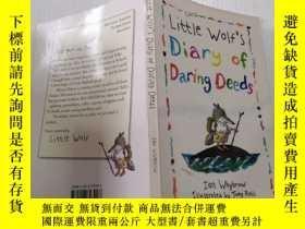二手書博民逛書店Little罕見wolf s diary of daring deeds:小狼的勇敢行為日記Y212829 不
