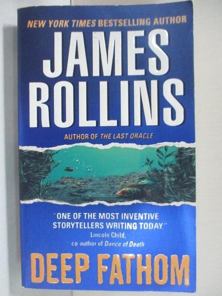 【書寶二手書T7/原文小說_A5I】Deep Fathom_Rollins, James