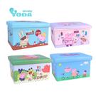 【YODA】粉紅豬小妹/佩佩豬收納箱 ( 四入組合 ) 080800123