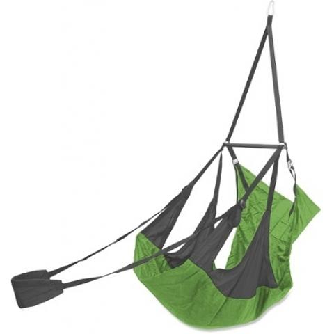 丹大戶外用品 【ENO】AIR POD HANGING CHAIR 輕量懶人躺椅 碳灰/萊姆綠 懶人吊床 AP068