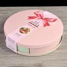 小麥秸稈 新年糖果盒 帶蓋多格糖果盒 圓形糖果盒 水果盤 過年糖果盤 (艾保康)