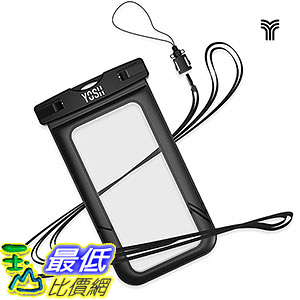 [106美國直購] 防水手機套 Universal Waterproof Case YOSH YSW000 Cell Phone Dry Bag Pouch iPhone 6S Plus