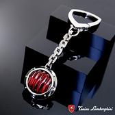 藍寶堅尼Tonino Lamborghini LUCE Red 鑰匙圈 防抗過敏 SUS316L頂級不鏽鋼 義大利精品
