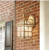 全銅歐式壁燈戶外燈室外庭院燈門口墻燈陽臺燈過道復古美式