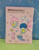 ~震撼  ~Little Twin Stars KiKi LaLa 雙子星小天使卡片夾_