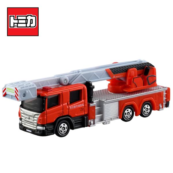 【日本正版】TOMICA NO.145 名古屋消防車 名古屋市消防局 消防車 雲梯車 玩具車 多美小汽車 - 160908
