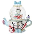 【震撼精品百貨】Hello Kitty 凱蒂貓~ Sanrio HELLO KITTY浪漫雪球M(奇幻愛麗絲)#77716