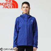 【The North Face 女 DV防水外套《藍》】3CHU/防水外套/風衣