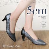 (限時↘結帳後1280元)BONJOUR軟綿綿5cm好走氣墊尖頭高跟鞋Wedding shoes(7色)