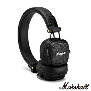英國Marshall Major III  無線藍牙耳罩式耳機~精簡黑精簡黑