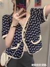 法式溫柔風短袖襯衫女裝2021新款設計感小眾輕熟氣質短款上衣 奇妙商鋪