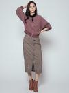 秋冬下殺↘5折[H2O]前後拉鍊設計連袖布勞森夾克外套 - 黑/粉色 #9663007