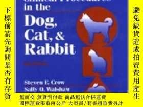 二手書博民逛書店Manual罕見of Clinical Procedures in the Dog, Cat, and Rabbi