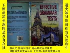 二手書博民逛書店EFFECTIVE罕見GRAMMAR TESTS FORM 1 有效語法測試表1Y261116