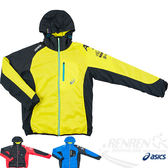 ASICS 亞瑟士 A77鋪棉外套(黃黑) 防風/潑水/輕量保溫