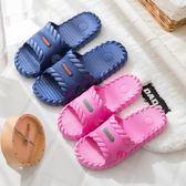 拖鞋夏季居家男女情侶室內涼拖鞋家用 厚底塑料洗澡防滑浴室拖鞋 東京衣櫃
