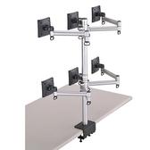 FOGIM 螢幕支架【TKLA-6036-S】 夾桌懸臂式液晶螢幕支架 六螢幕 終身保固 新風尚潮流