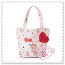 ♥小花花日本精品♥Hello Kitty 迷你提袋手提袋棉布提袋抱小熊愛心吊牌蝴蝶結草莓 42158509
