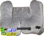 [8美國直購] 航空頭枕 SkySiesta SNUG Travel Pillow- Two L-Shaped, Fiber Filled Head Supports, Bag, Eye Mask