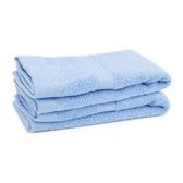 純棉飯店級方巾-海洋藍【愛買】