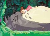 【拼圖總動員 PUZZLE STORY】小梅在龍貓肚子上睡午覺 日本進口拼圖/Ensky/龍貓/108P