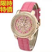 鑽錶-明星款奢華與眾不同女手錶5色5j63[巴黎精品]