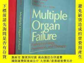 二手書博民逛書店Multiple罕見Organ Failure: Pathoph