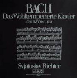 李希特  巴哈:鋼琴平均律 I  CD Svjatoslav Richter/ Bach:Das Wohltemperierte Klavier BWV 846-869