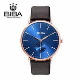 法國 BIBA 碧寶錶 永恆光影系列 藍寶石玻璃 石英錶 B773S302D 藍色 - 41mm