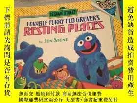 二手書博民逛書店LOVABLE罕見FURRY OLD GROVER S REST