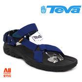 【Teva】男款 HURRICANE XLT 織帶機能運動涼鞋 - 午夜藍 (4156NAVY)【全方位運動戶外館】