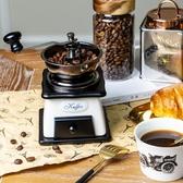 咖啡機 復古手動手搖咖啡磨豆機研磨咖啡家用小型陶瓷鑄鐵擺件道具粉碎器 星隕閣