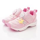 日本Moonstar機能童鞋 冰雪奇緣聯名運動鞋款 DNC12414粉(中小童段)